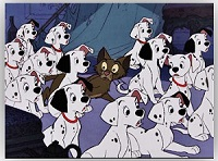 one hundred and one dalmatians cartoons