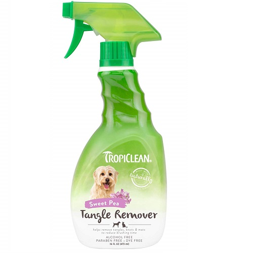 TropiClean Dog Detangler Spray Review