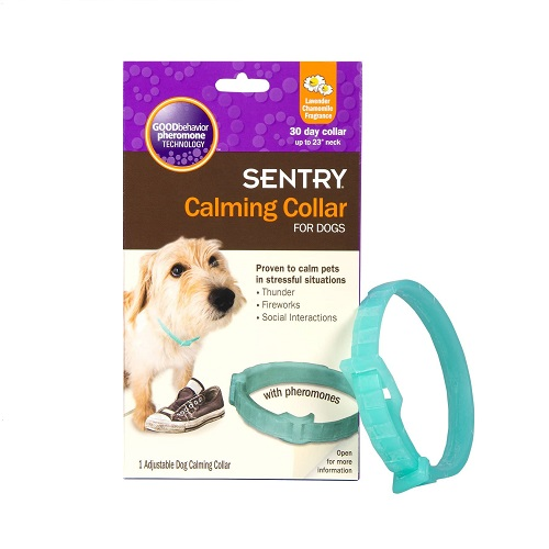 Sentry Pet Care Calming Dog Collar Review