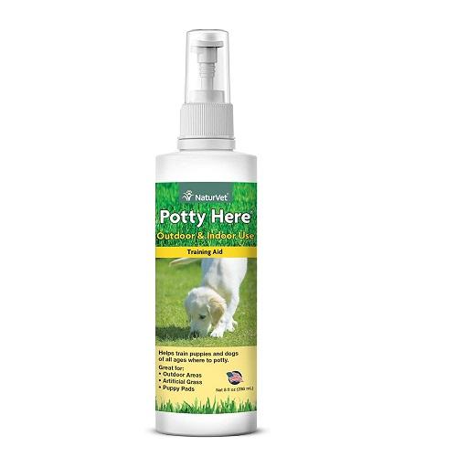 NaturVet Potty Training Spray Review