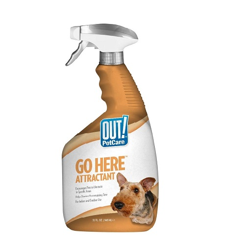 OUT Dog Poop Training Spray Review
