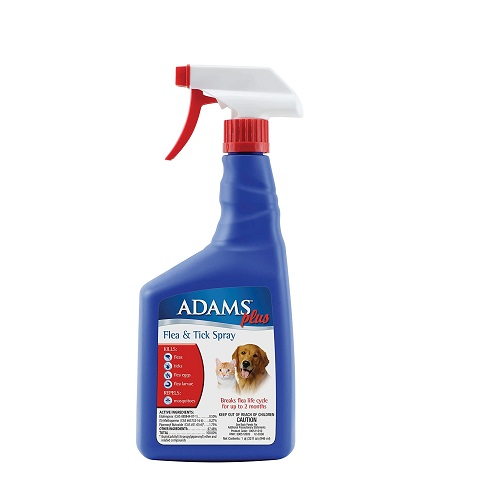 Adams Plus Flea and Tick Spray for Cat Review