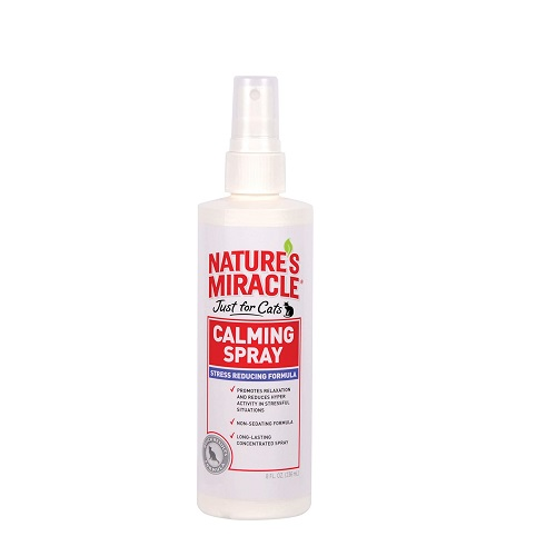 Nature's Miracle Cat Calming Spray Review