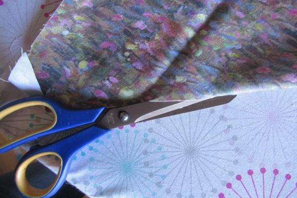 Scissors to Cut Fold Line