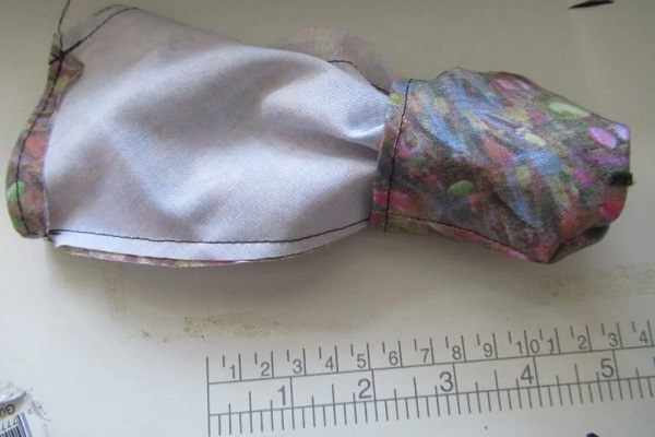 Use Your Hand Fabric Inside Out