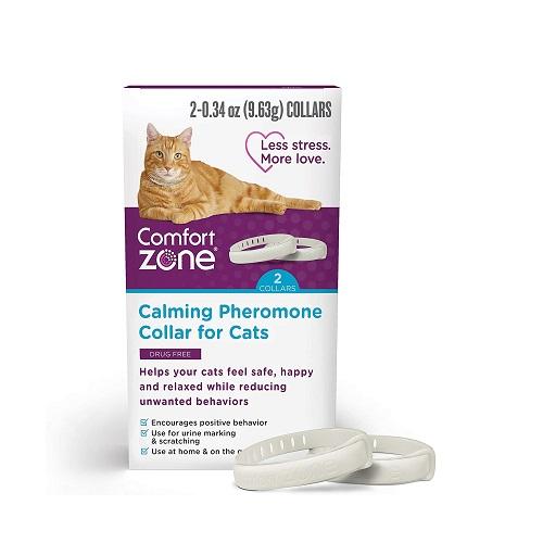 Comfort Zone Cat Calming Collar Review